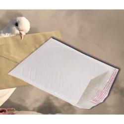 Tasak légpárnás W1 fehér belméret:100x165mm külméret:120x175mm
