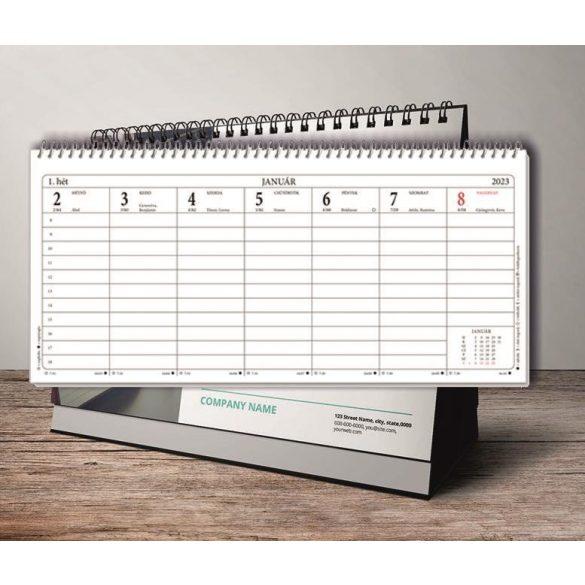Naptár asztali 24TA 283x135mm 2022