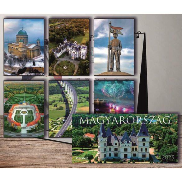 Naptár asztali Magyarország 2022 Cardex 300x150mm