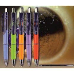 Golyóstoll kék 0163 Triangle Spoko ;-) -nyomógombos,színes tolltest, 0,5mm (X-18 0297 betéttel)