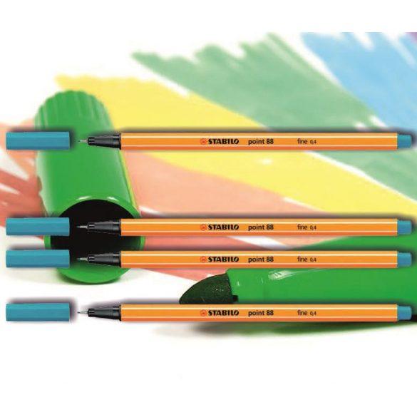 Tűfilc világoskék 88/31 point Stabilo - 0,4mm, vízbázisú