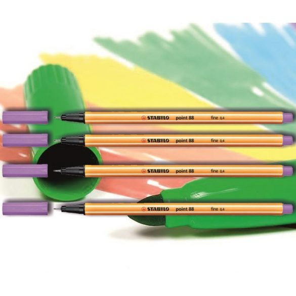 Tűfilc világos lila 88/59 point Stabilo - 0,4mm, vízbázisú