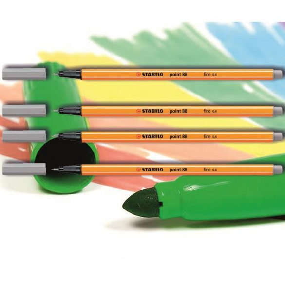 Tűfilc világos szürke 88/94 point Stabilo - 0,4mm, vízbázisú