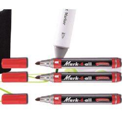 Alkoholos filc piros kerek Mark-4-all Stabilo - 1,5-2,5mm