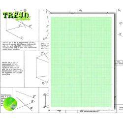 Milliméter papír SuliTREND A/4 80g 10ív