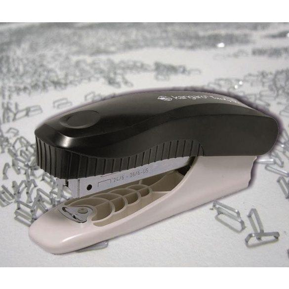 Tűzőgép Trendy-35 fekete Kangaro (25 lapig, 24/6 26/6 kapocs)