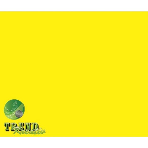 Dekorkarton kétoldalú citromsárga intenzív KreatívTREND 640x450mm 240g
