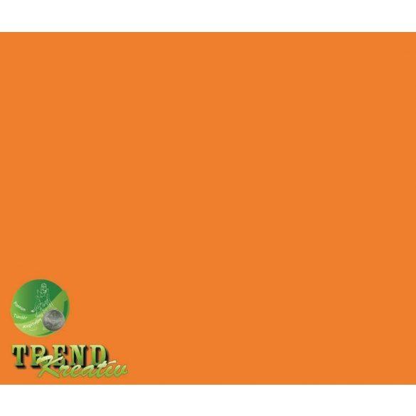 Dekorkarton kétoldalú narancssárga intenzív KreatívTREND 640x450mm 240g