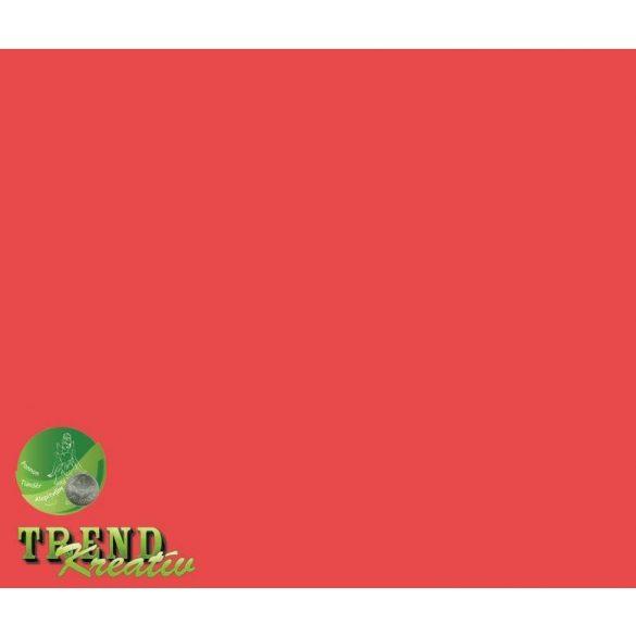 Dekorkarton kétoldalú piros intenzív KreatívTREND 640x450mm 240g