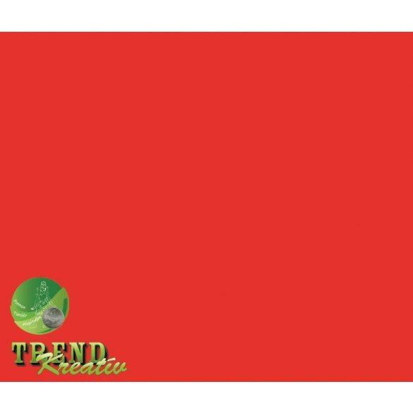 Dekorkarton kétoldalú vörös intenzív KreatívTREND 640x450mm 240g