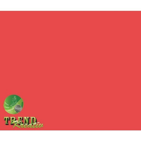 Dekorkarton kétoldalú piros intenzív KreatívTREND A/4 (210x297mm) 240g