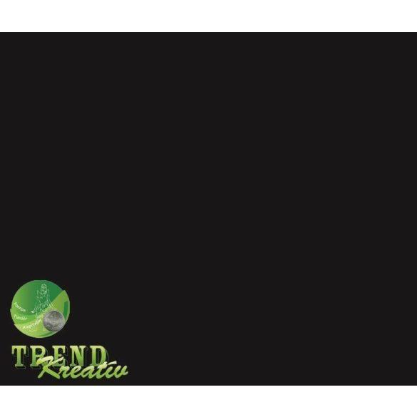 Dekorkarton kétoldalú fekete intenzív KreatívTREND A/4 (210x297mm) 240g