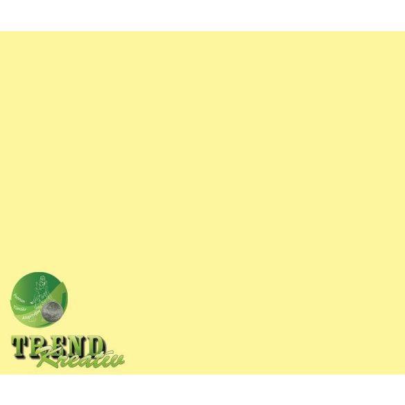 Dekorkarton kétoldalú világossárga pasztell KreatívTREND 640x450mm 240g