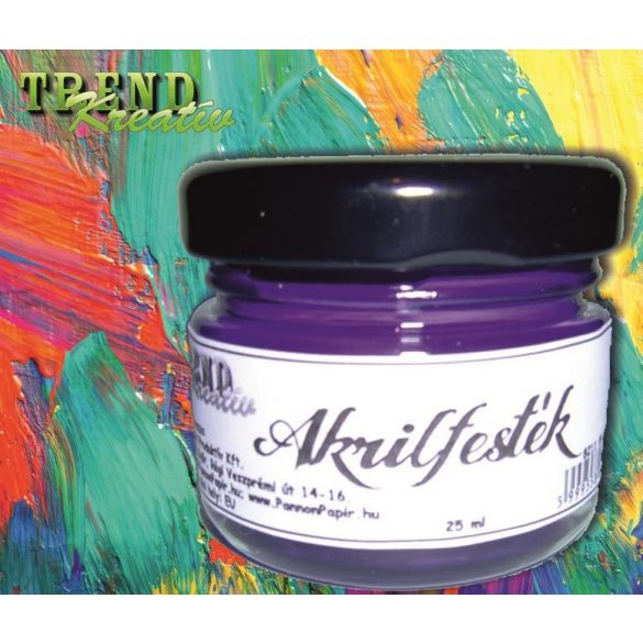 Akrilfesték lila matt KreatívTREND 25ml