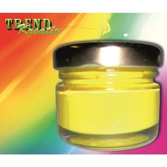 Tempera citromsárga KreatívTREND 25ml