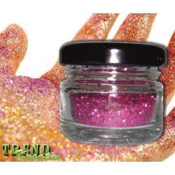 Csillámpor rózsaszín KreatívTREND 10g