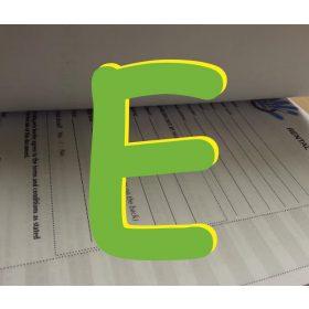 """""""E"""" jelű nyomtatvány"""