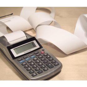 Szalagos számológép