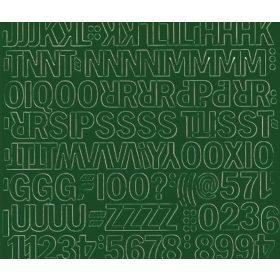 Öntapadós betűk-számok