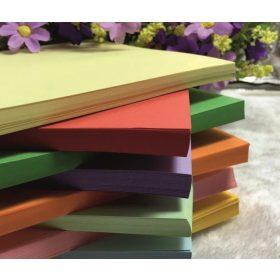 Normál grammsúlyú színes fénymásoló papír