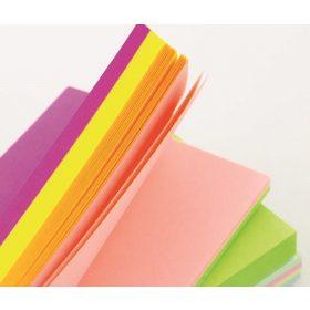 Ragasztott színes jegyzettömb