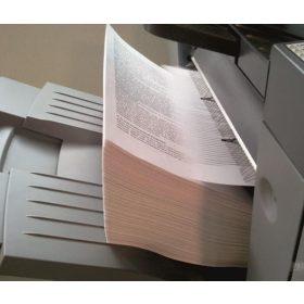 Fehér fénymásoló papír