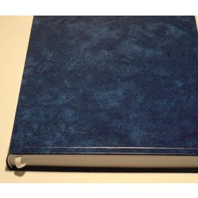 Műbőrfedelű vendégkönyv