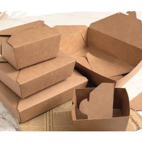 Doboz papír élelmiszer csomagoló