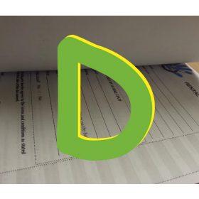 """""""D"""" jelű nyomtatvány"""